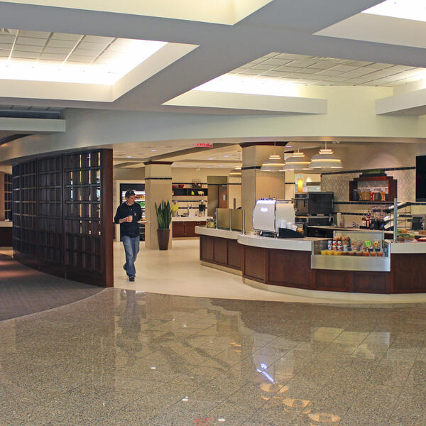 Yale West Campus Dining Cafeteria