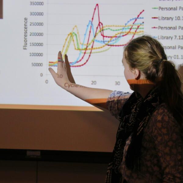 Research lecture presentation graph