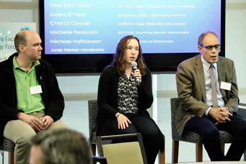 Panel members discuss bringing diverse resources to Cores