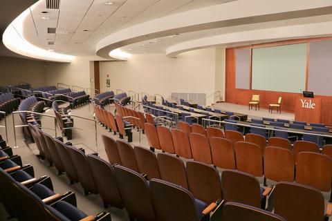 The 250-seat Grace Murray Hopper Auditorium.