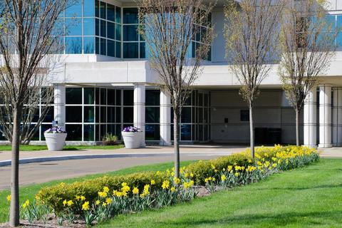 Spring at the West Campus Conference Center.